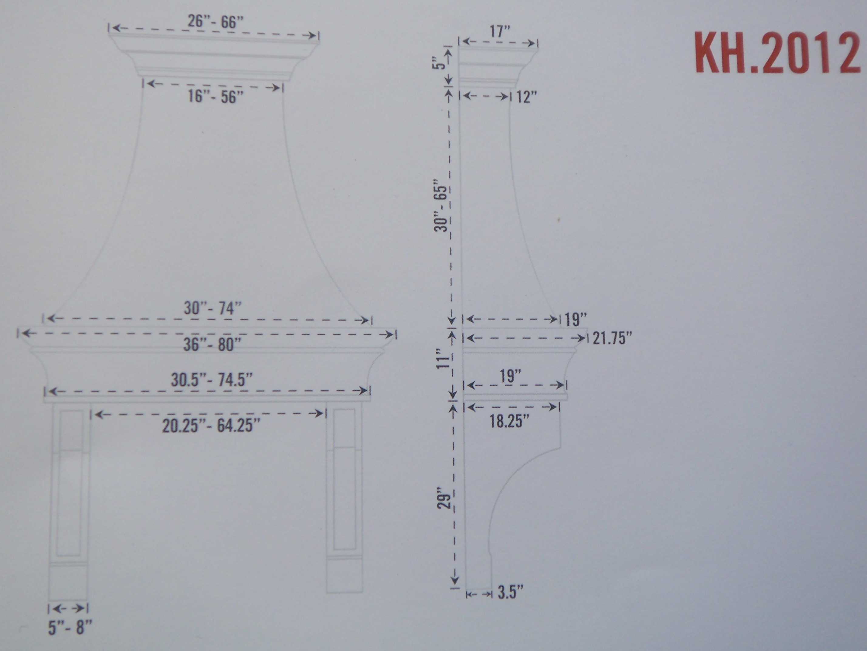 City Plastering Kitchen Hoods Models Kh2012